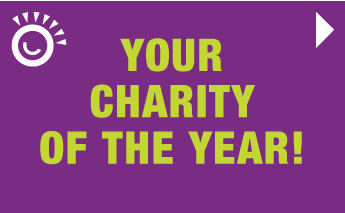 your charity of the year