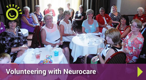 volunteering with neurocare