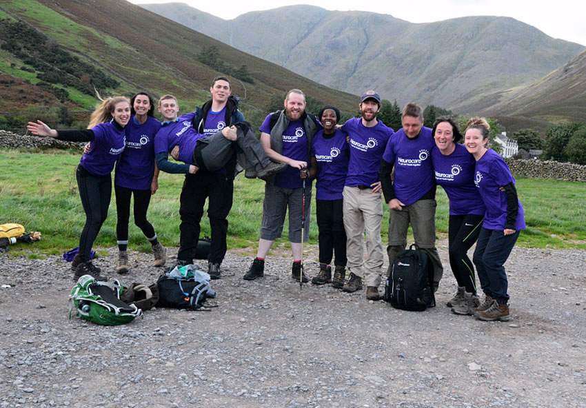 Hallamshire nurses take on the 3 peaks challenge