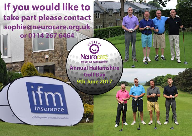 neurocare Hallamshire Golf Day 2017