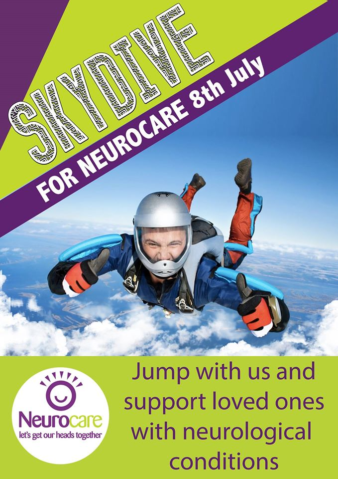 Skydive for Neurocare