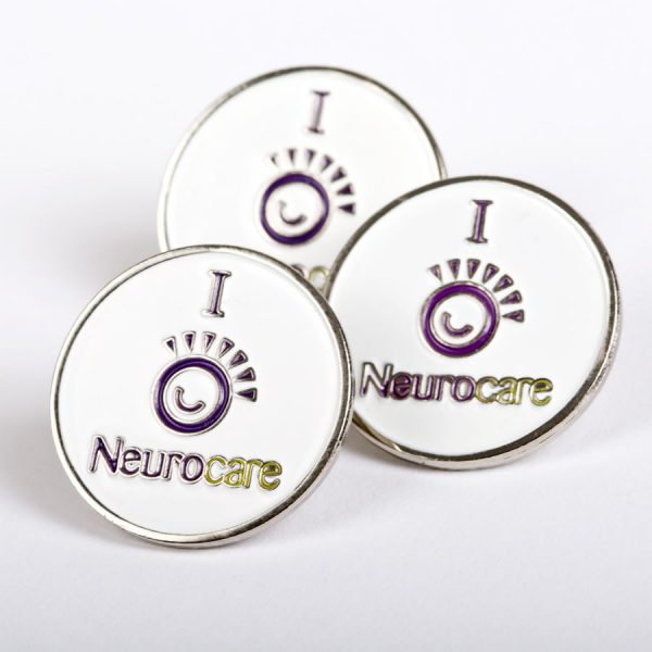 neurocare lapel pin