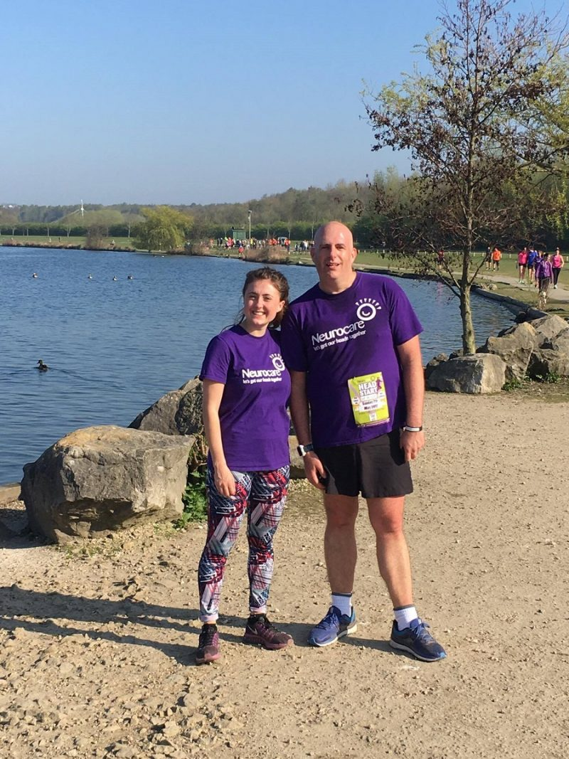 Sophie and Jamie - Rother Valley Park Run