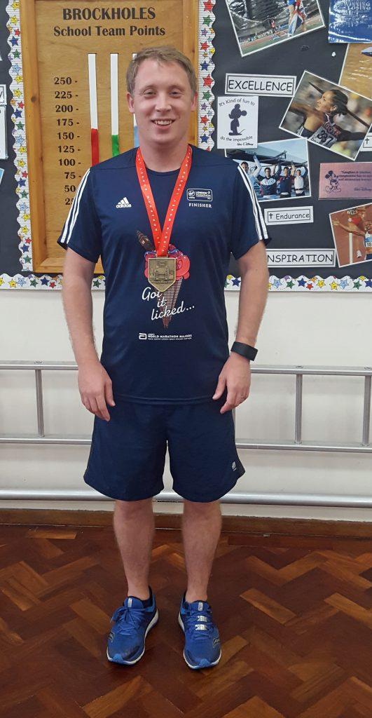 Russ Horsfall - London Marathon