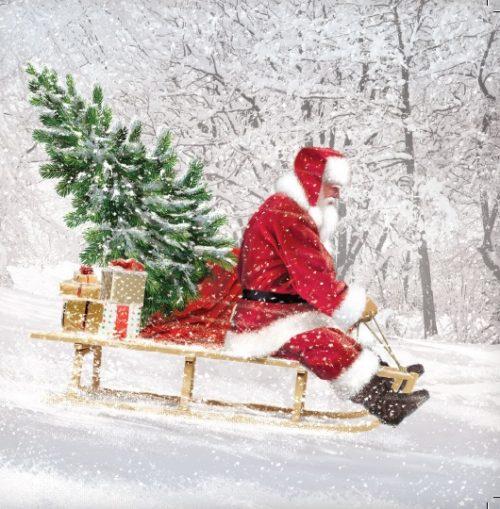 Santa Charity Christmas Card