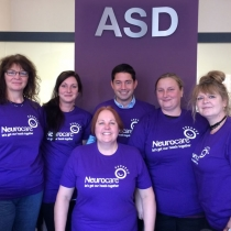 ASD solicitors supporter Neurocare in 2016, raising money throughout the year
