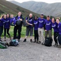 Hallamshire nurses take on the 3 peaks challenge