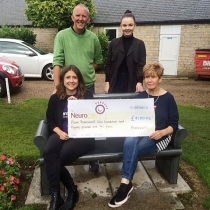 The Presswoods loved one Ady passed away due to brain cancer and they organised a Golf day in his memory.