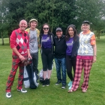 The Presswoods loved one Ady passed due to brain cancer and they organised a Golf day in his memory.